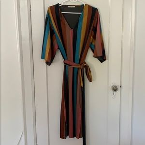 Zara Moroccan wrap dress
